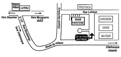 Bienvenue chez bab papeterie for Bureautique bayonne